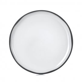 Caractère dinner plate White Cumulus
