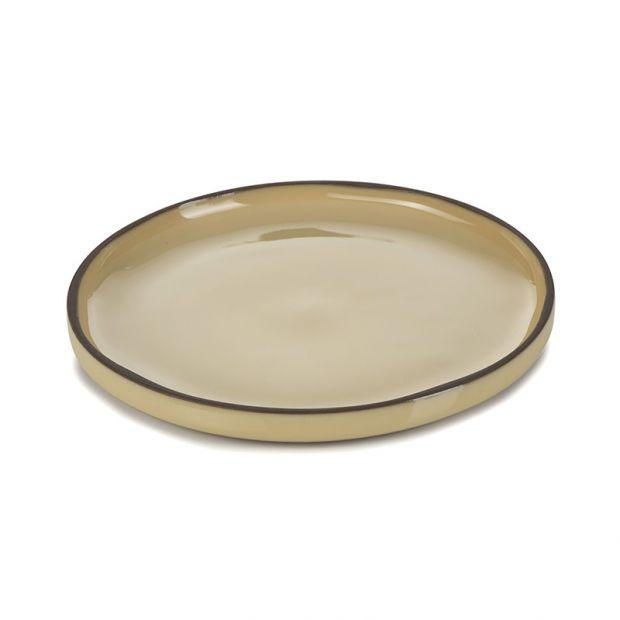 Caractère dinner plate Nutmeg