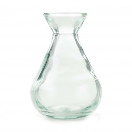 No.W Recycled Glass Sauce 14cl Boat Vase