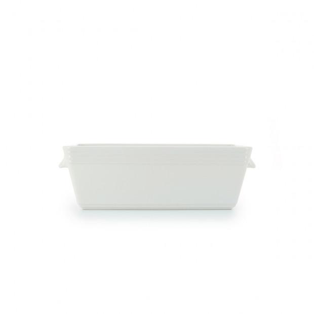 White porcelain galantine terrine dish