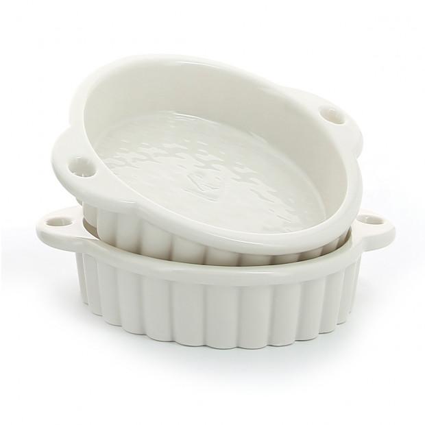 Porcelain tartelet dish