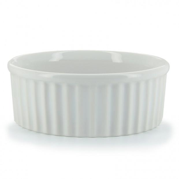Porcelain soufflé dish