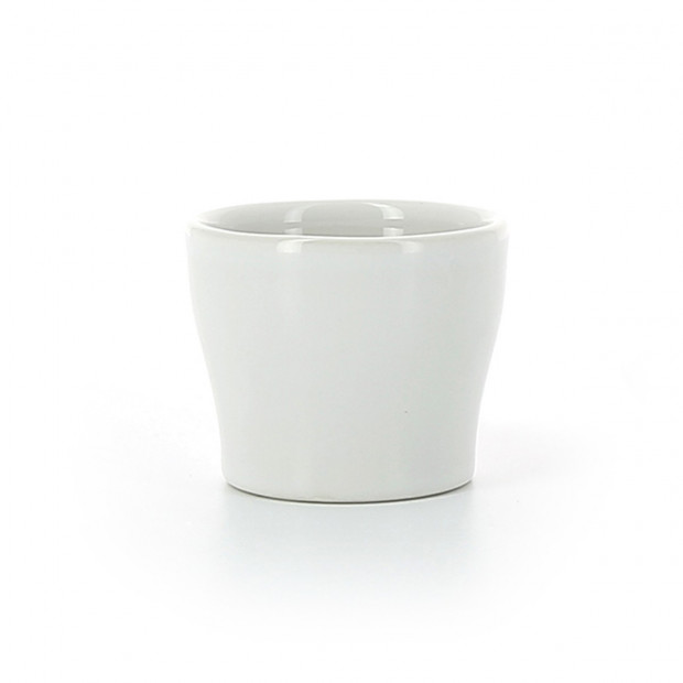 White porcelain egg cup