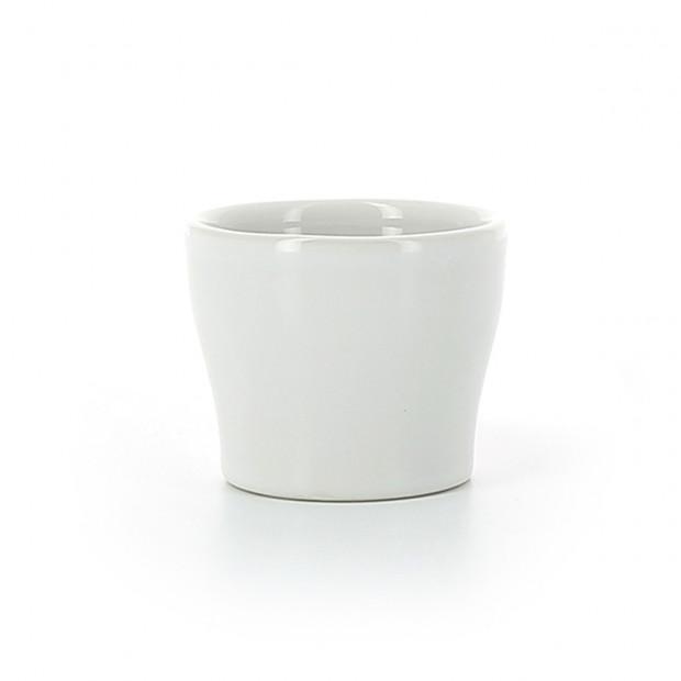 White porcelain egg cup
