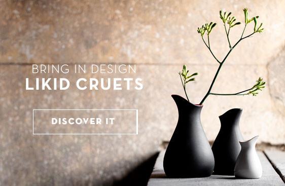 BRING IN DESIGN LIKID CRUETS